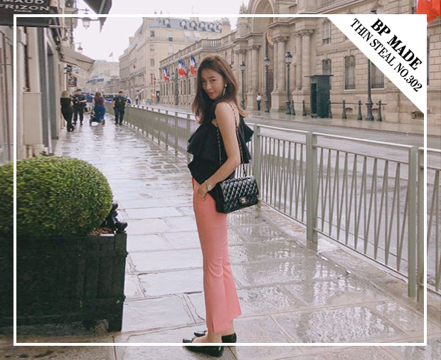 #BP_made Thin Steal Slacks NO.302 - 리바이벌 (Pink Color 추가)